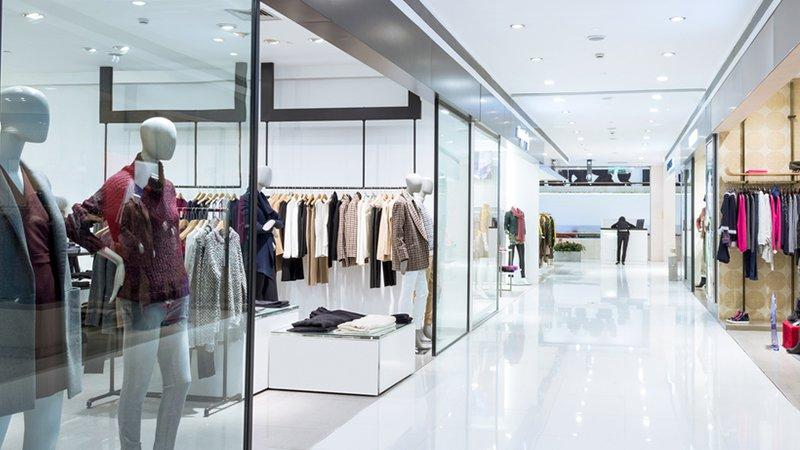 Branchenlösungen - Ladenzeile mit mehreren Shops