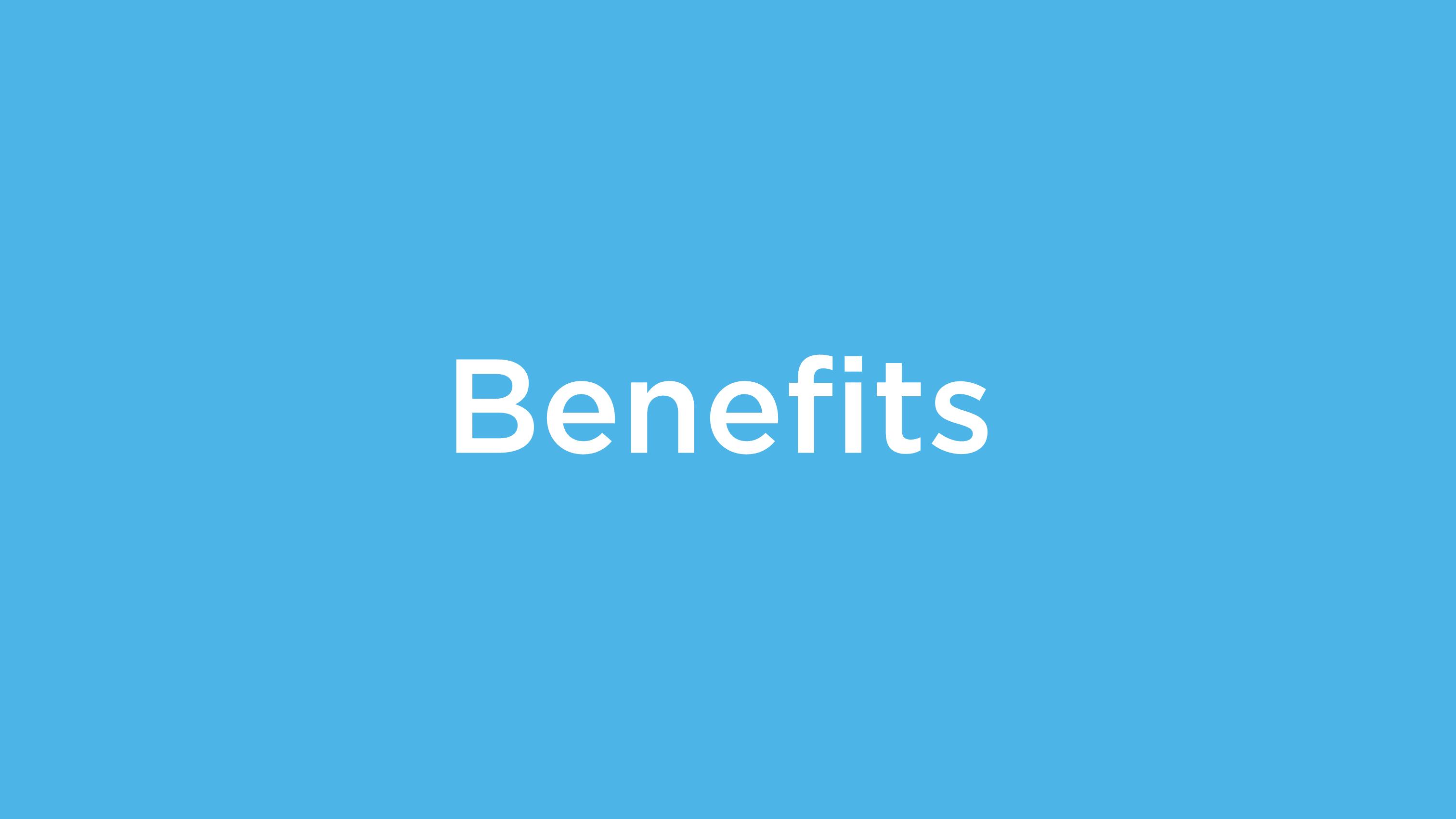 Jobportal - Benefits