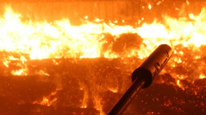 Gefährlicher Einsatz - Reinigen mit Sprengstoff