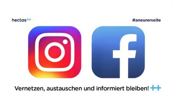 hectas jetzt auch auf Instagram und Facebook