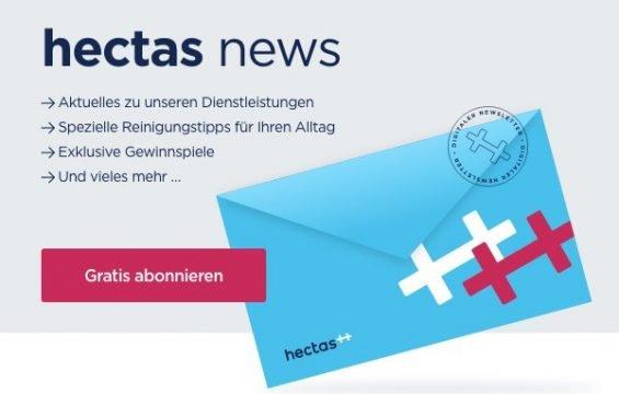 Immer auf dem Laufen bleiben – jetzt zur neuen Ausgabe des hectas Newsletters anmelden