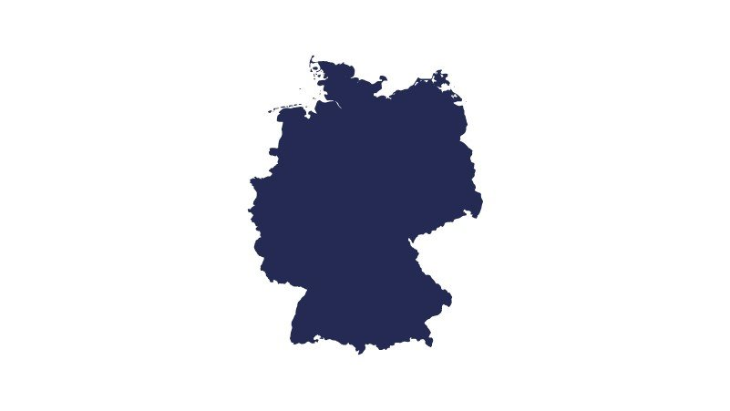 hectas Germany map